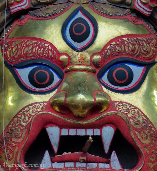 Swet Bhairab - Indra Jatra festival