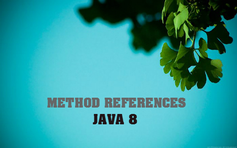 Java 8 - Tìm hiểu Method References trong 5 phút