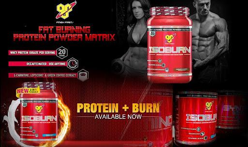 bsn isoburn whey protein