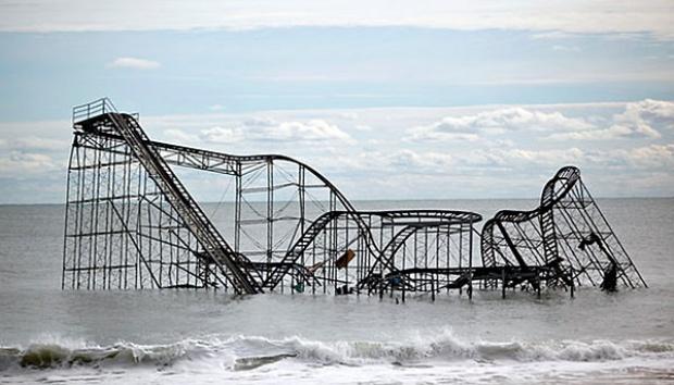 Dampak Kerusakan Akibat Terjangan Badai Sandy