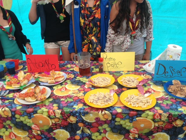 Scout motta 1 master chef a pozzale for Idee per gara di cucina scout