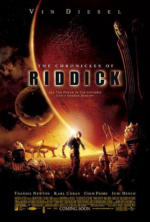 Poster Of The Chronicles of Riddick (2004) Full Movie Hindi Dubbed Free Download Watch Online At Alldownloads4u.Com