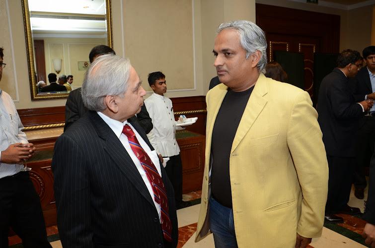 Arvind Mathur of IVCA with Mahesh Murthy of Seedfund