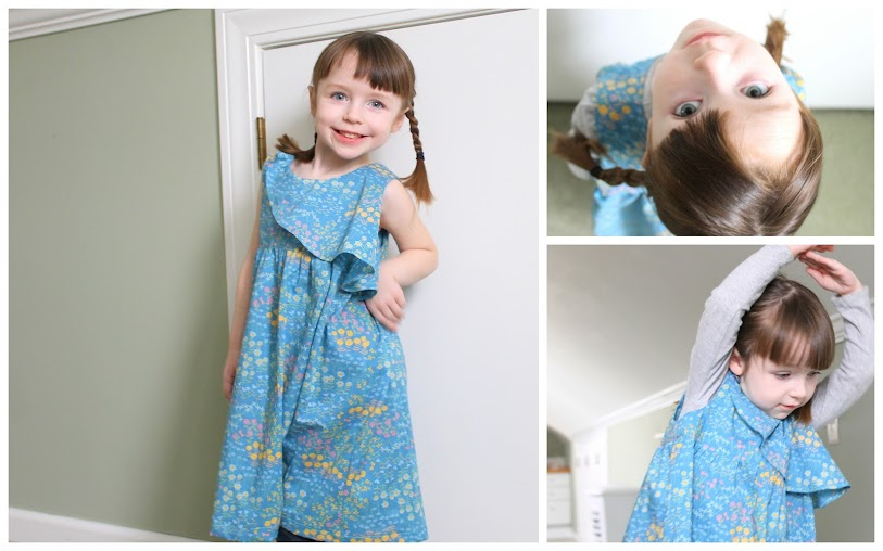 The Ethereal Dress from Figgy's Heavenly Pattern Collection as sewn by Jill Dorsey of Made with Moxie