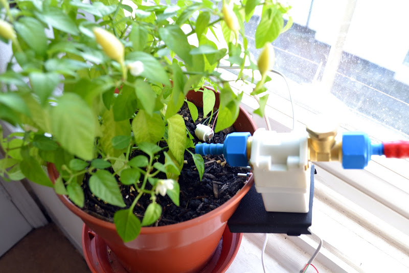 Plant watering with arduino