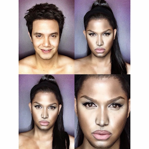 Paolo Ballesteros Makeup Transformations with Pictures 12