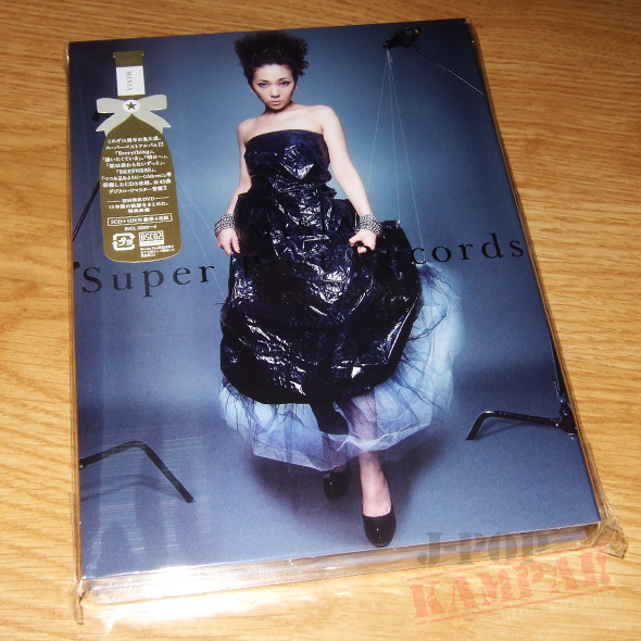 [CD Packaging] MISIA - Super Best Records -15th Celebration- (3CD+DVD)