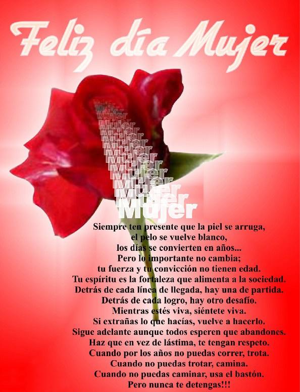 Feliz Dia De La Mujer Feliz día de la mujer. feliz dia de la mujer