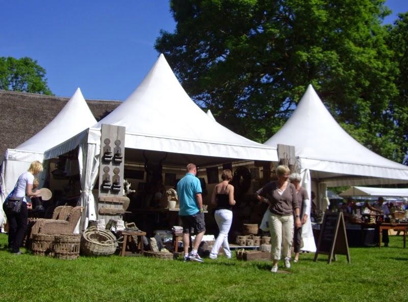 Tuin en Culinair Fair op Landgoed Mensinge