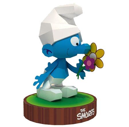 Smurfs Papercraft