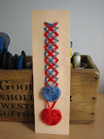 marcapáginas San Valentín/Valentine's Day bookmark