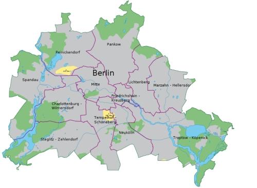 espace vert a berlin