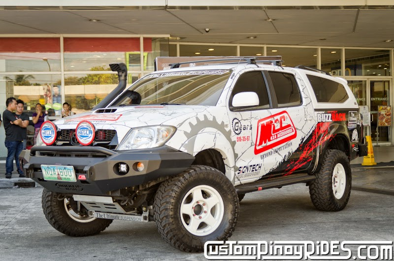 Head-On with a Higher Toyota Hilux 4x4 Custom Pinoy Rides Car Photography Manila Philippines pic