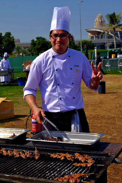 The Big Grill, Dubai Food Festival, SunDanceLIVE, at the Emirates Golf Club, in Dubai