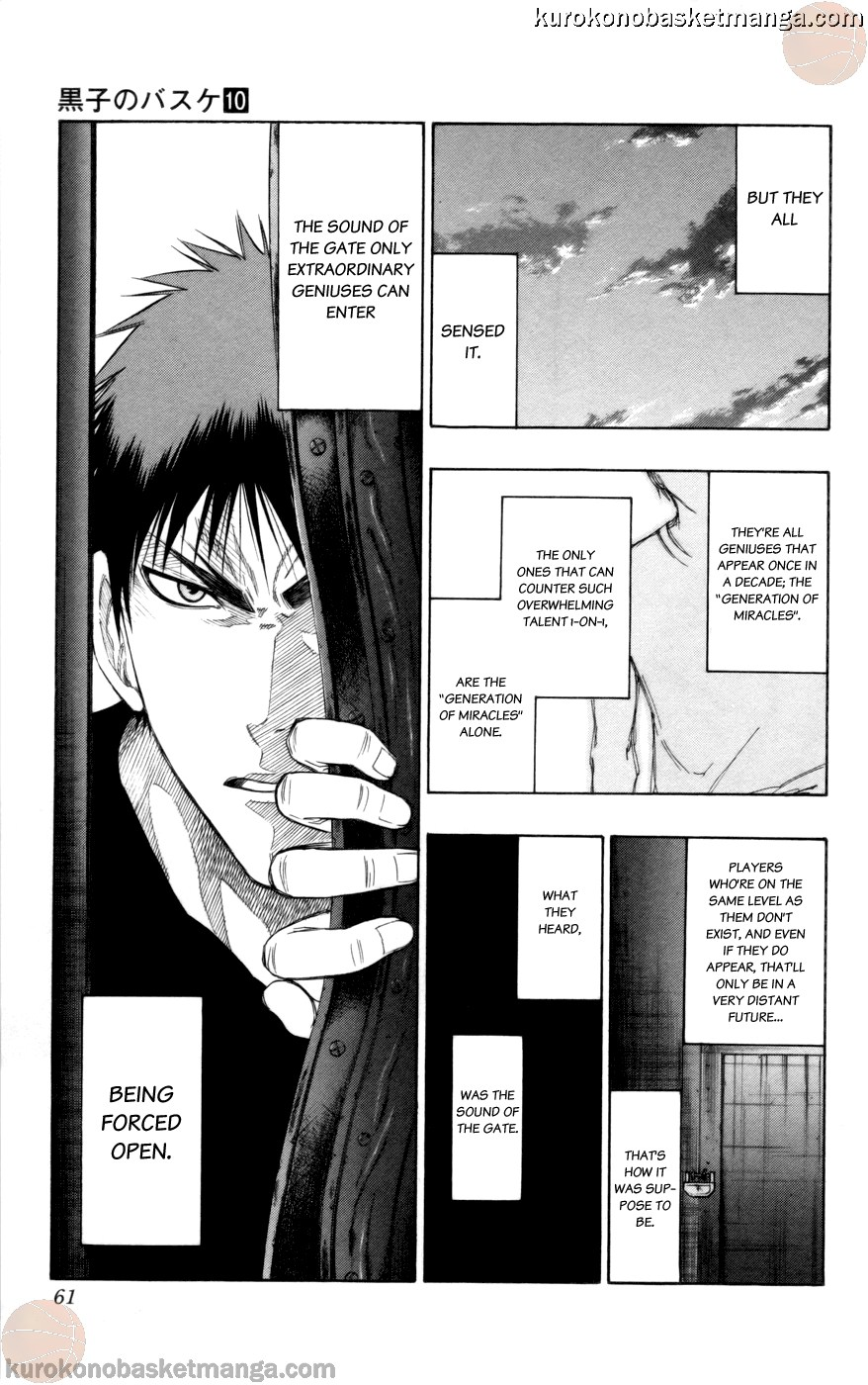 Kuroko no Basket Manga Chapter 83 - Image 15