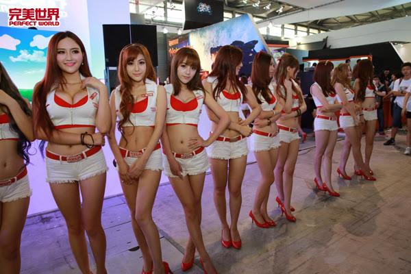 Ngắm dàn mỹ nữ của Perfect World tại ChinaJoy 2013 1
