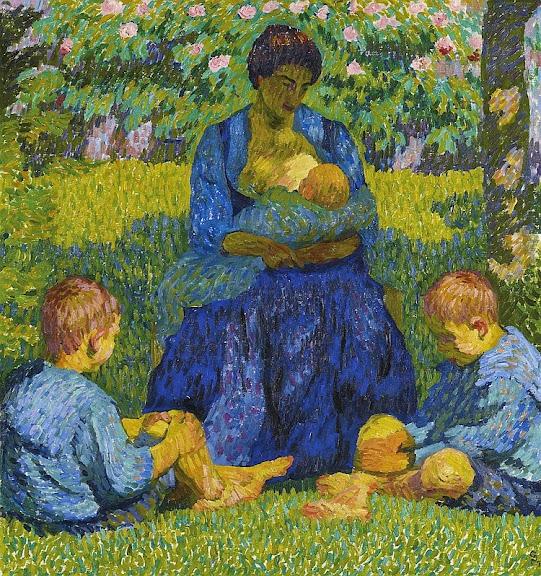 Giovanni Giacometti - Maternité, 1908