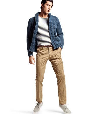 Pantaloni Chino H&M Slim Fit