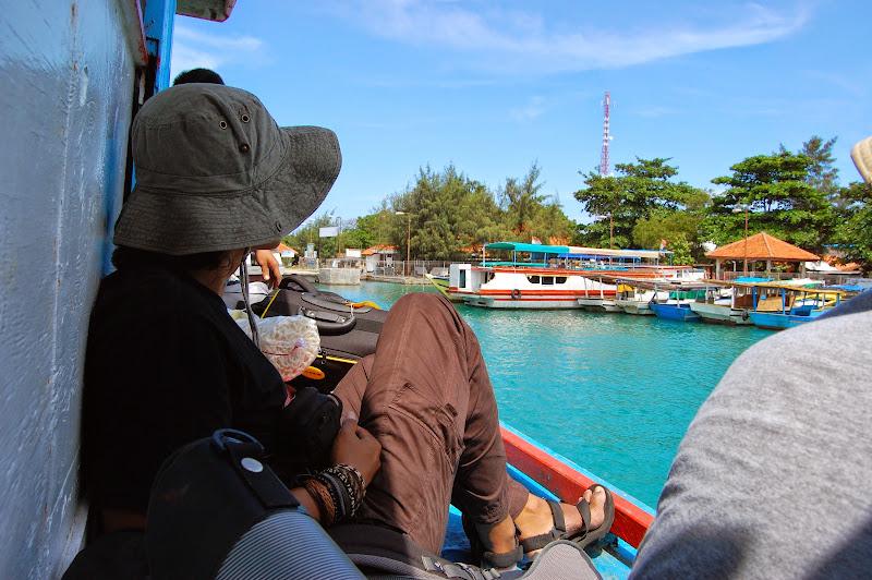 Singgah di Pulau Pramuka