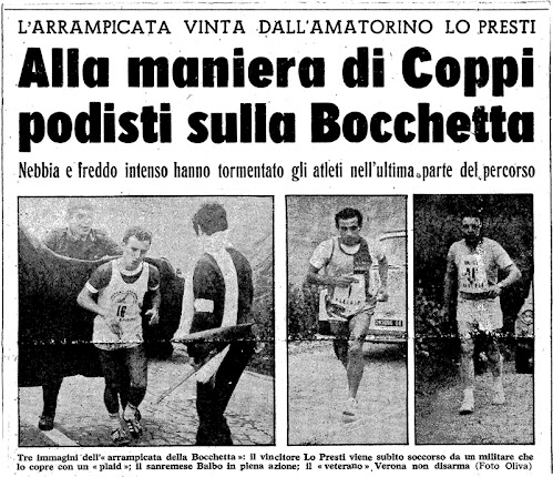 Arrampicata alla Bocchetta 1969