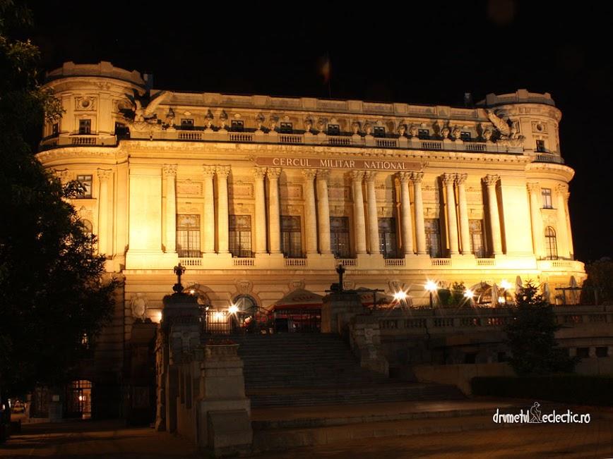 palat Bucuresti Bucharest military noapte arhitectura