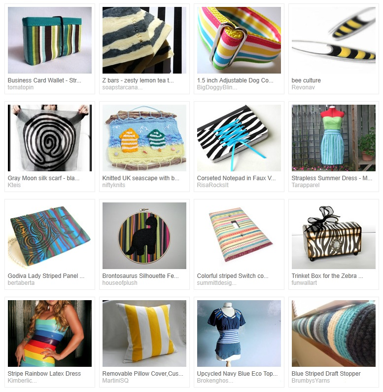 Feeling Stripey Treasury