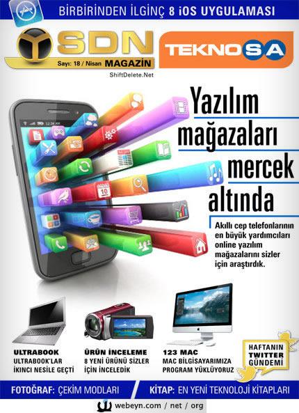 SDN Magazin 18 kapak