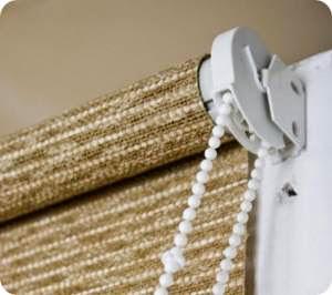 Как установить рулонную штору