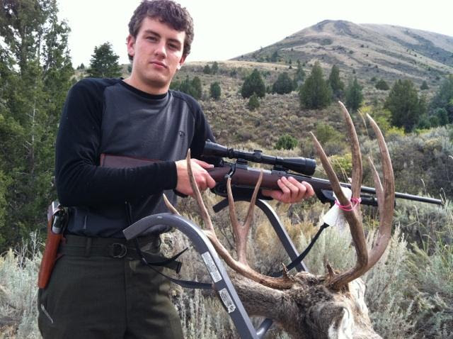 Montana Hunting - success from scouting!