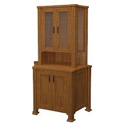 sacramento corner cabinet