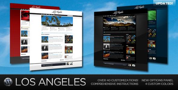 Themeforest Los Angeles - A Premium Wordpress Theme v1.3