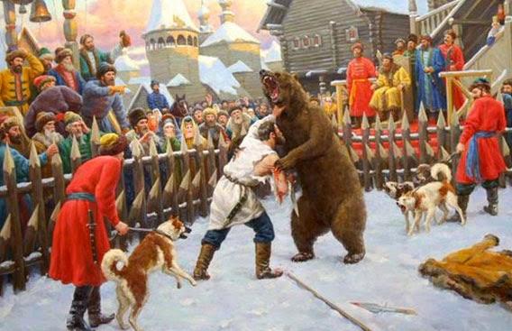 Бой с медведем