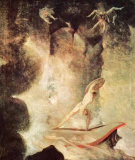 Johann Heinrich Füssli, 'Odisseo di fronte a Scilla e Cariddi'