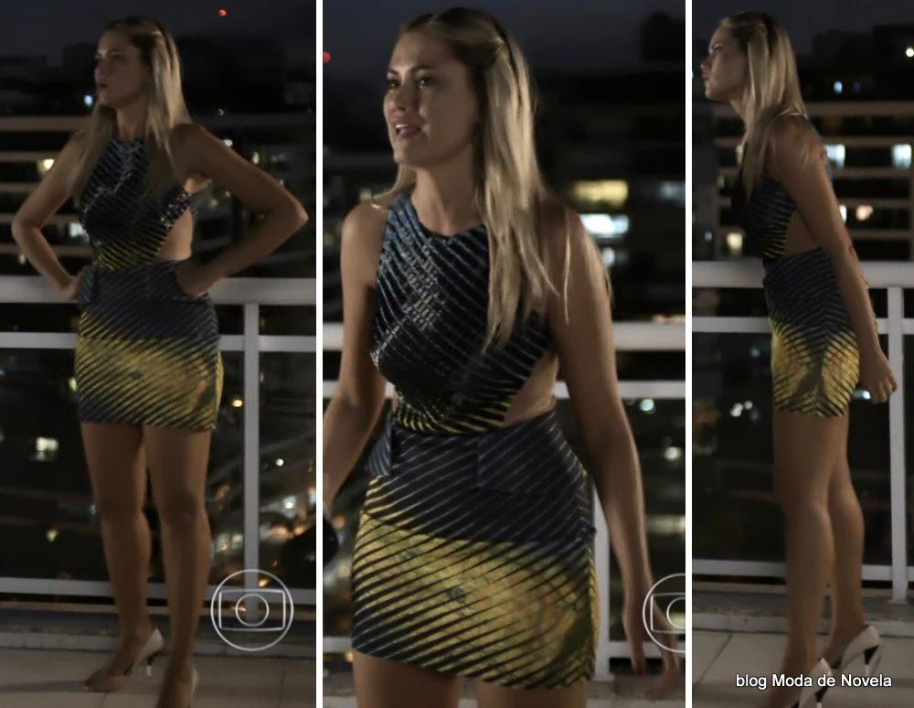 moda da novela Geração Brasil - look da Ludmila dia 17 de maio