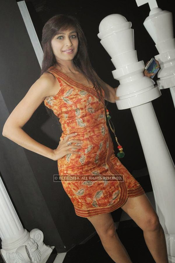 Sonia Bajaj during the party, held at BW club, New Friends Colony.