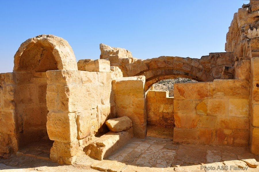 Экскурсия в Негев, Мамшит, вила набатейского аристократа