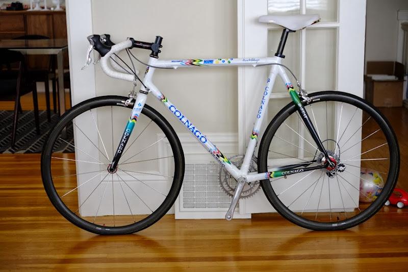 SOLD: 2002 Colnago C40 Mapei World Champion Limited Edition, 58cm ...