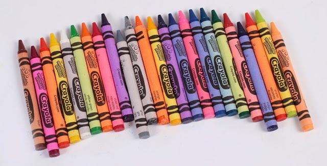 Bộ sáp Crayola 24 màu sinh động phong phú