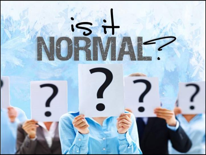 is it notmal