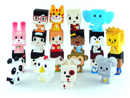 Happy Play Paper Toys