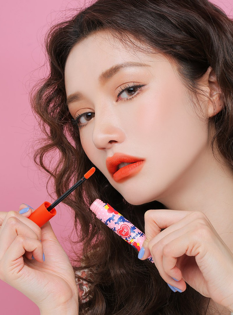 3CE Maison Kitsune Velvet Lip Tint Staycation