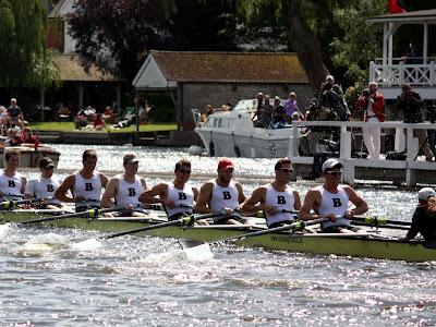 Brown rowing at the Henley Royal Regatta