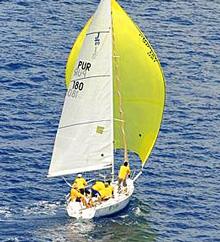 J/80 OtraKosa sailing BVI Spring Regatta