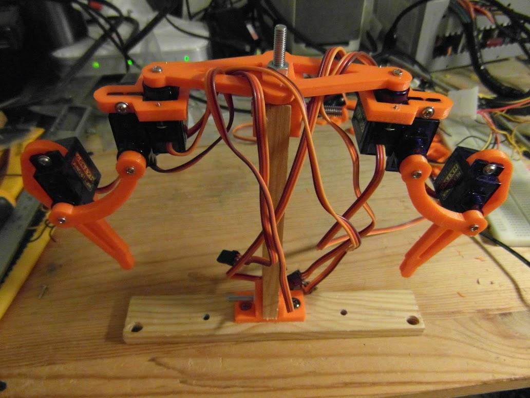 dual leg test rig
