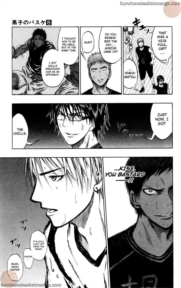 Kuroko no Basket Manga Chapter 68 - Image 19