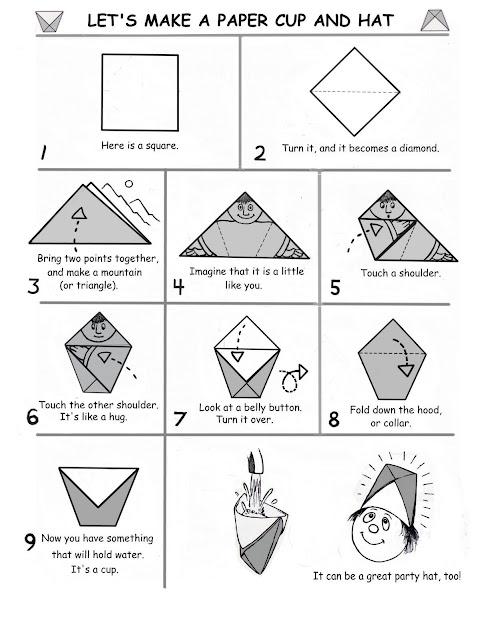 52b8fbd685a65 PAPER FOLDING ART: Origami Paper Cup