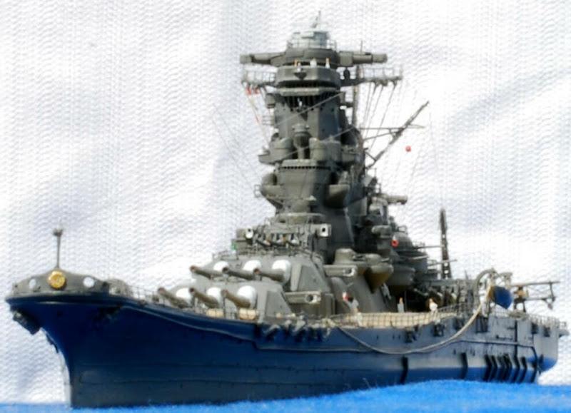 プラモデルとして復元された戦艦大和