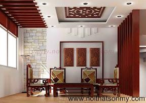 Mẫu thiết kế nội thất phòng khách 338