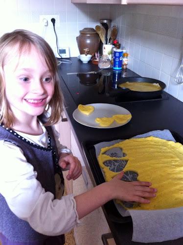 Louloute cuisine la polenta