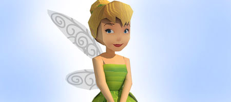 Tinker Bell Paper Toy
